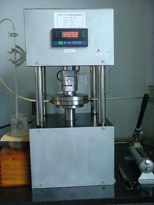 เครื่องทดสอบแรงอัดความดันสูงด้วยแรงดันสูง 20T